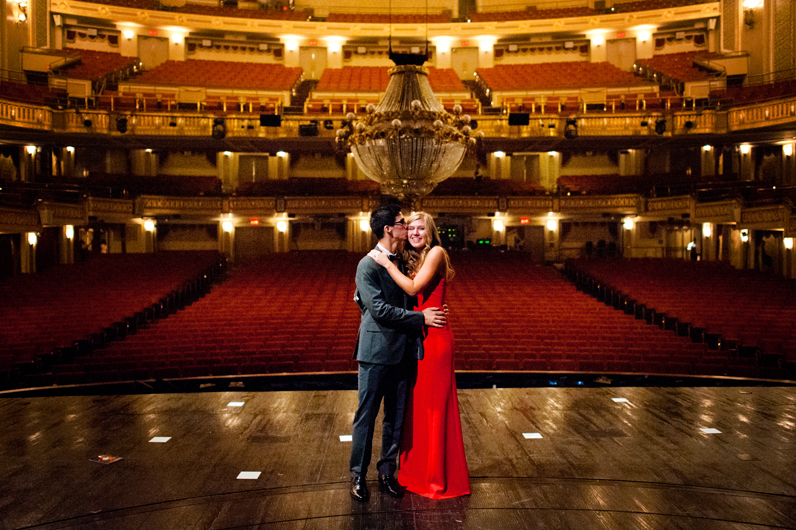 Image 2 of Lauren and Adam's Stunning Proposal at the Orpheum