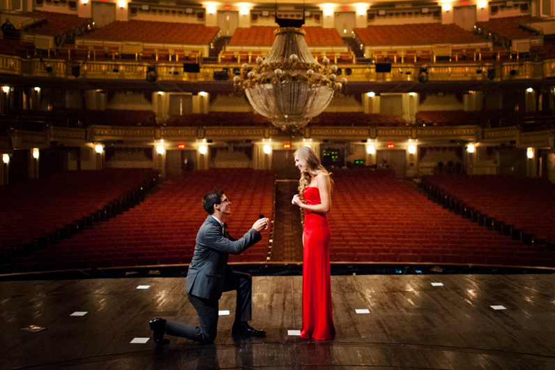 Image 4 of Lauren and Adam's Stunning Proposal at the Orpheum