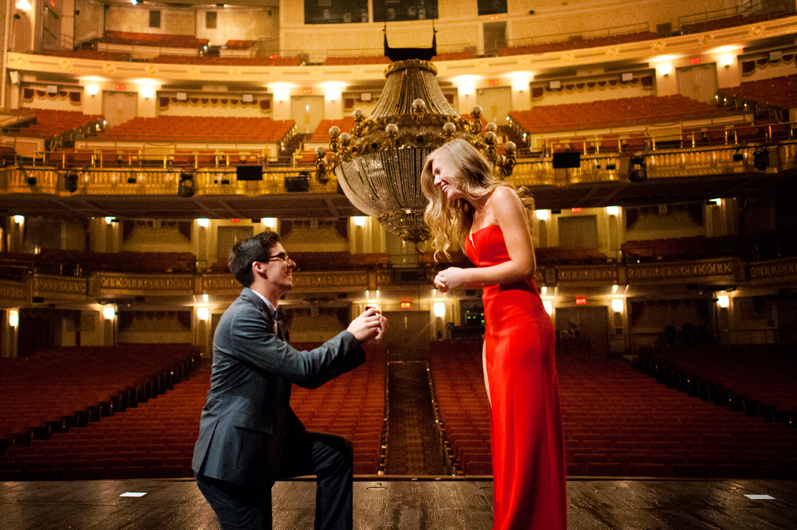Image 14 of Lauren and Adam's Stunning Proposal at the Orpheum