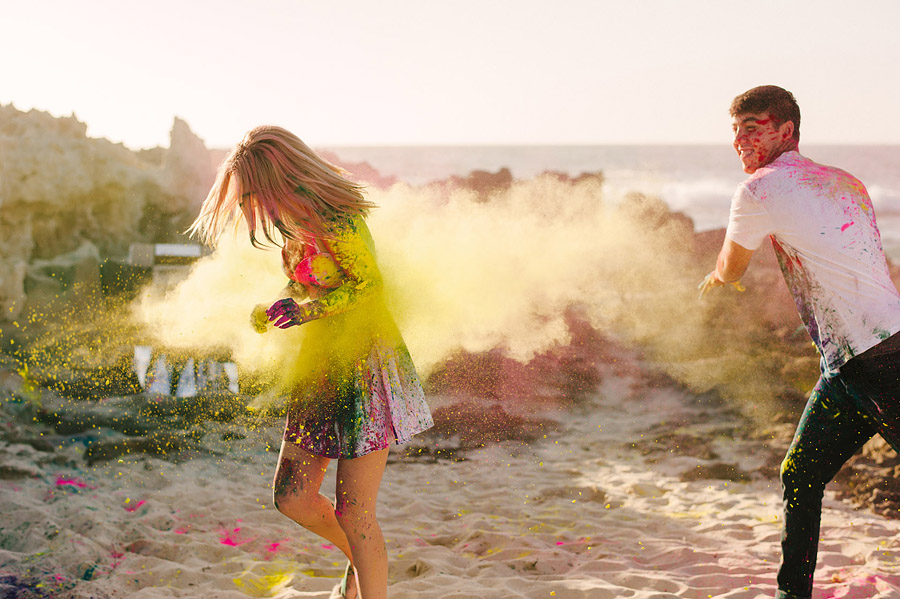 Image 5 of Paint Fight Engagement Photos (do we need to say anything more?)