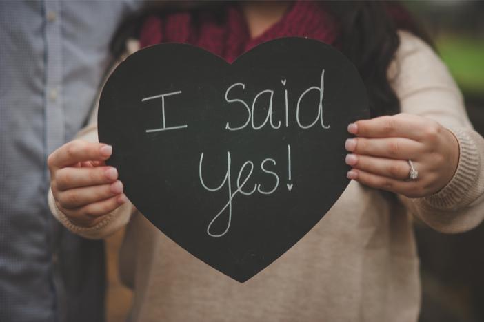 Image 1 of Amanda and Michael's Fall Proposal