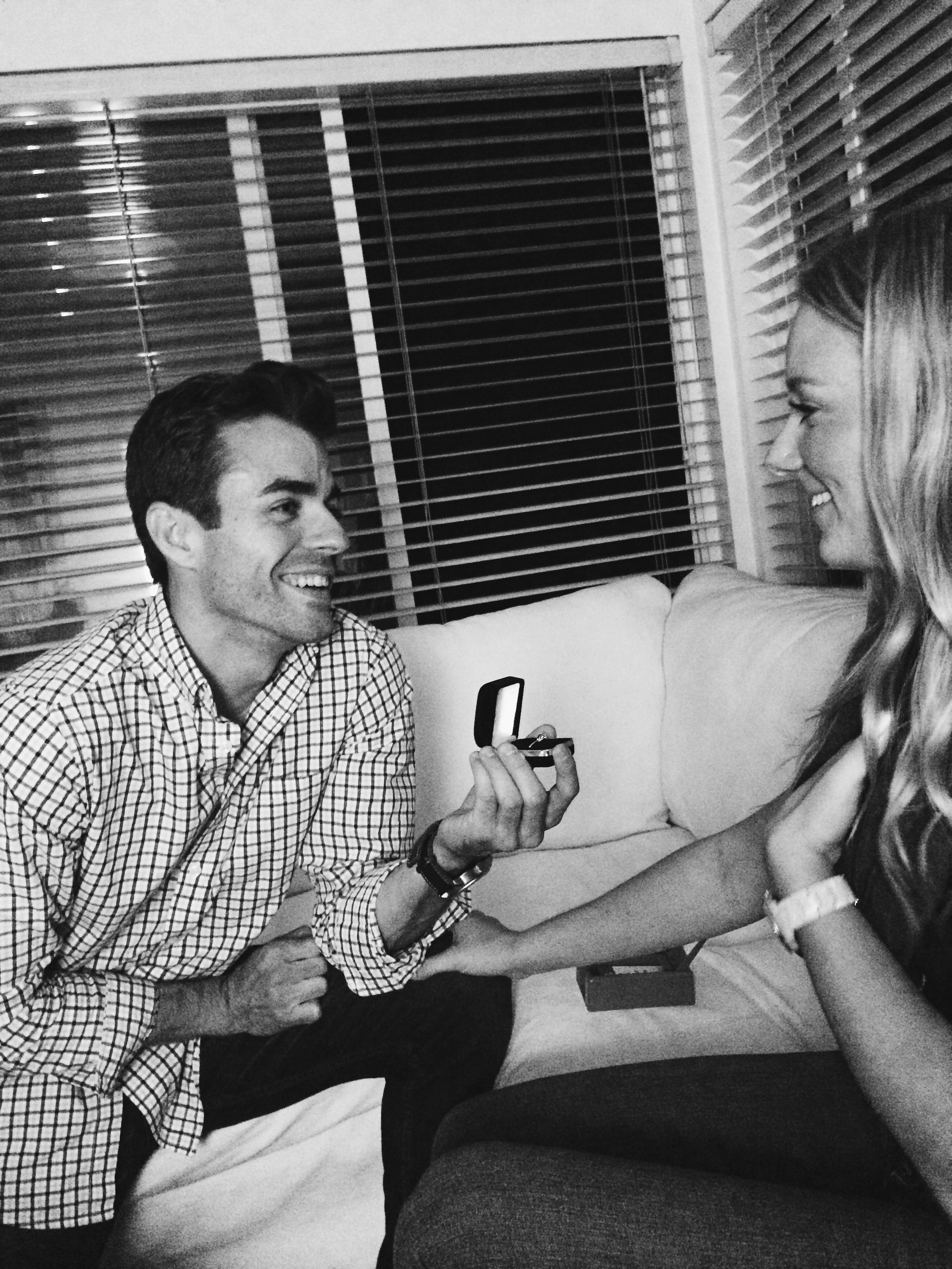 Man Proposes During a Game of Taboo