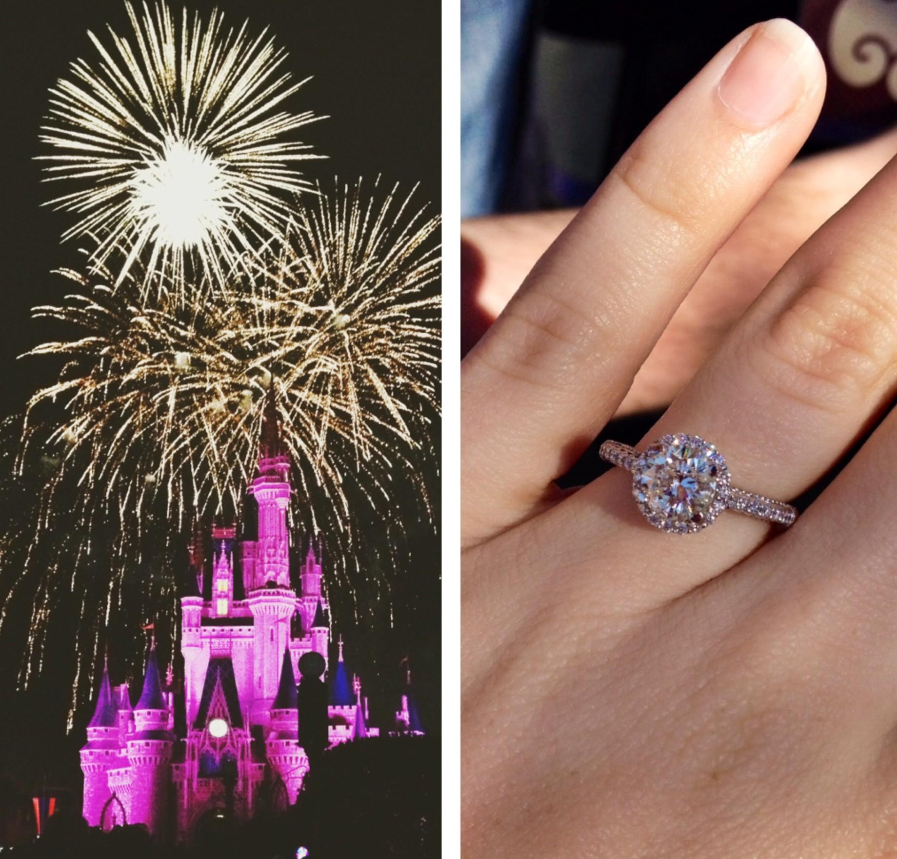 Image 3 of Mallory and Davis Proposal at Disney