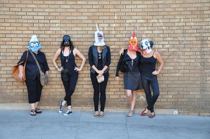 Image 3 of Daniel and Julia's Masked Flash Mob Proposal