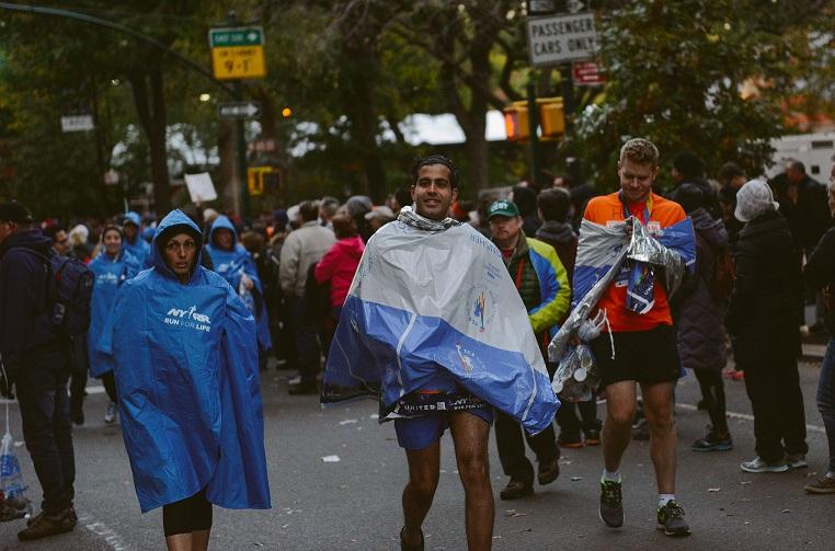 Image 3 of Sabrina and Mos' Proposal at the NYC Marathon