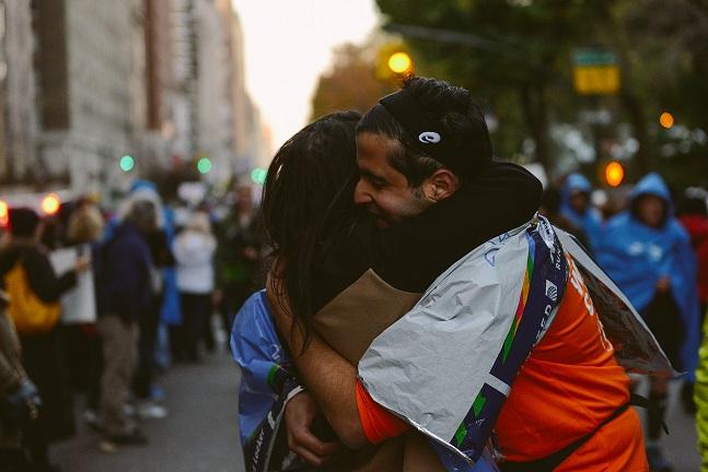 Image 6 of Sabrina and Mos' Proposal at the NYC Marathon
