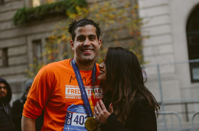 Proposal at the NYC Marathon_Engagement 6