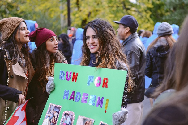 Proposal at the NYC Marathon_Nadeem poster