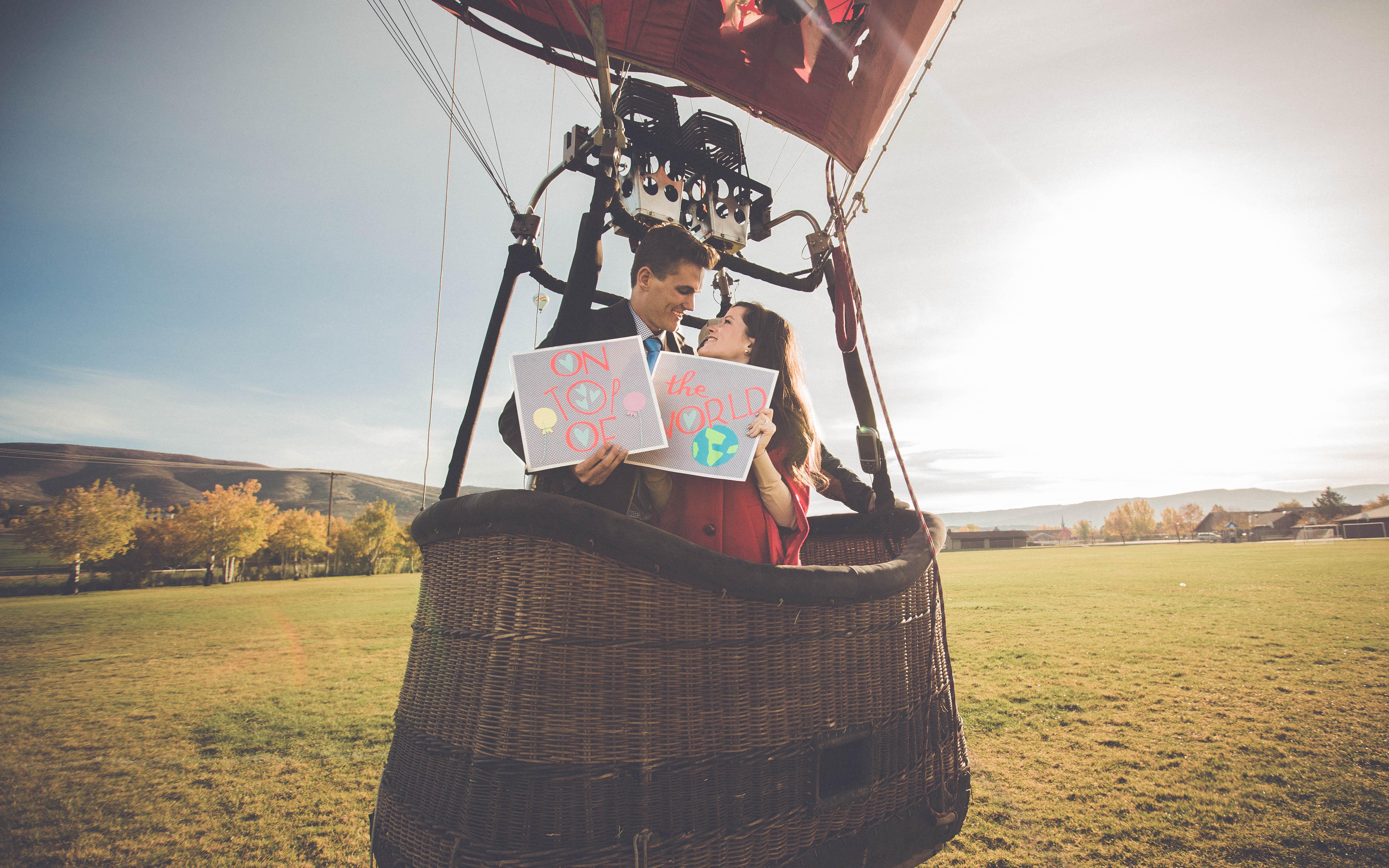 Hot Air Balloon Proposal Video