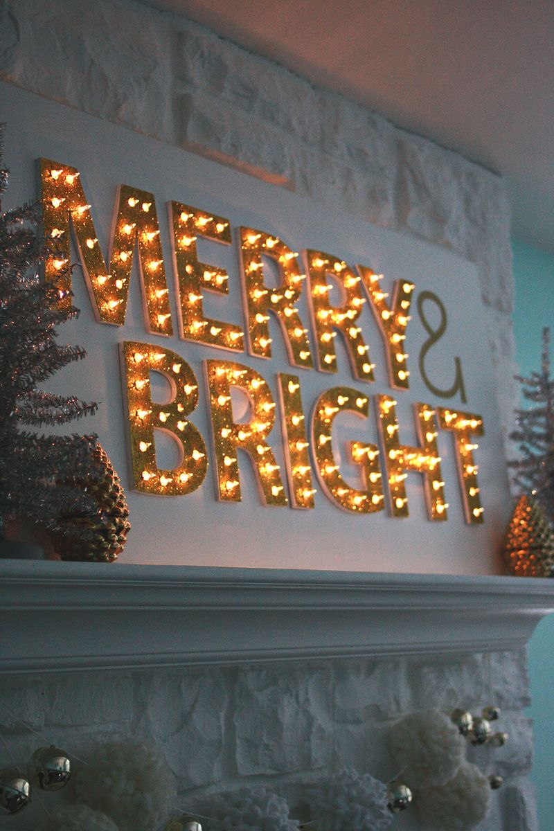 be merry and bright lights