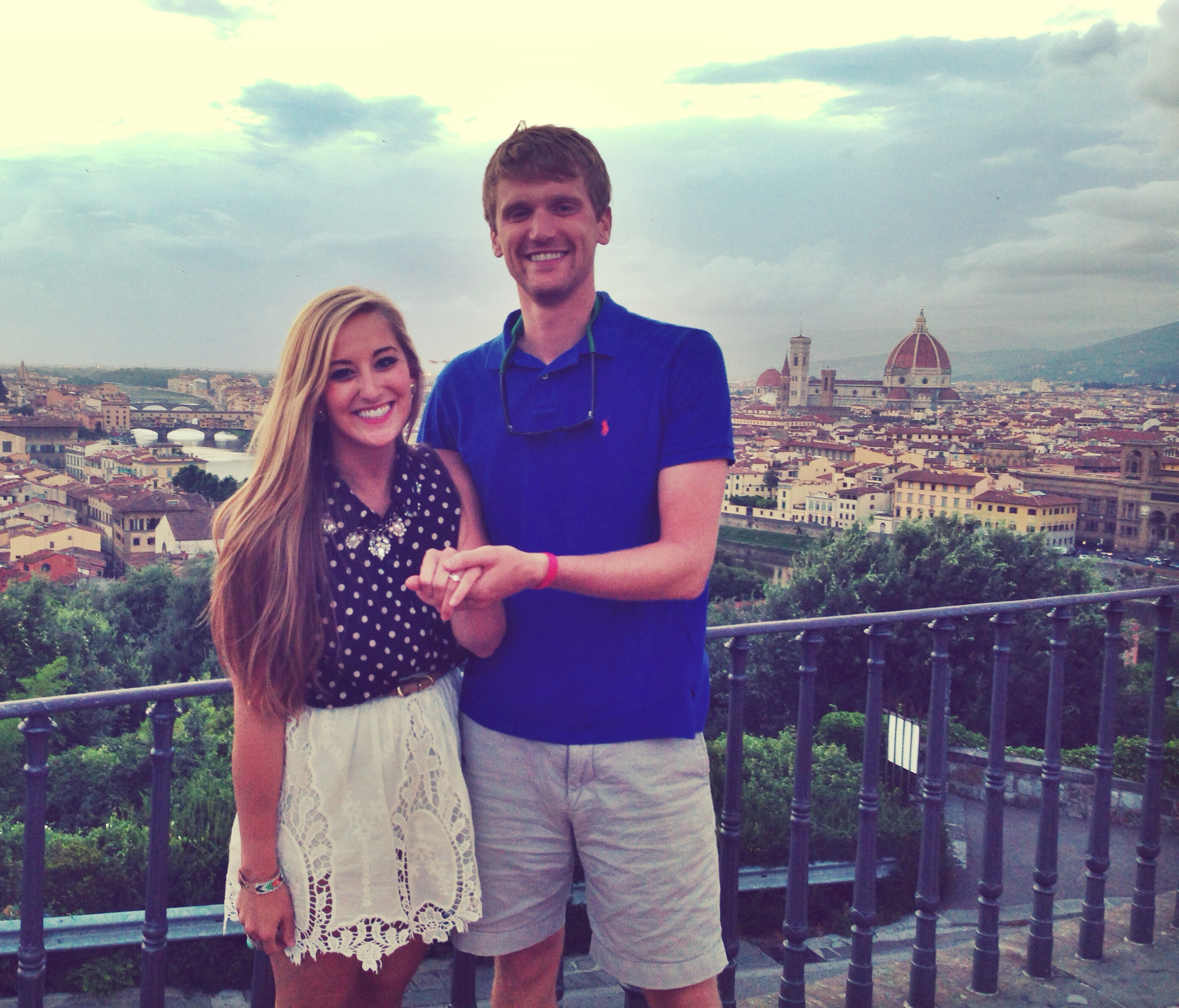 Image 4 of Kayla and John's Romantic Proposal in Florence