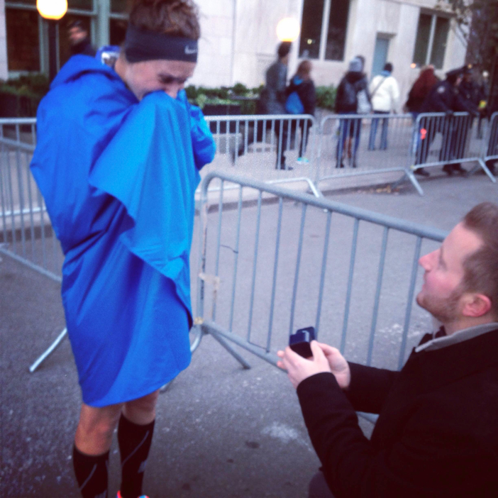 marriage proposal at the new york city marathon91