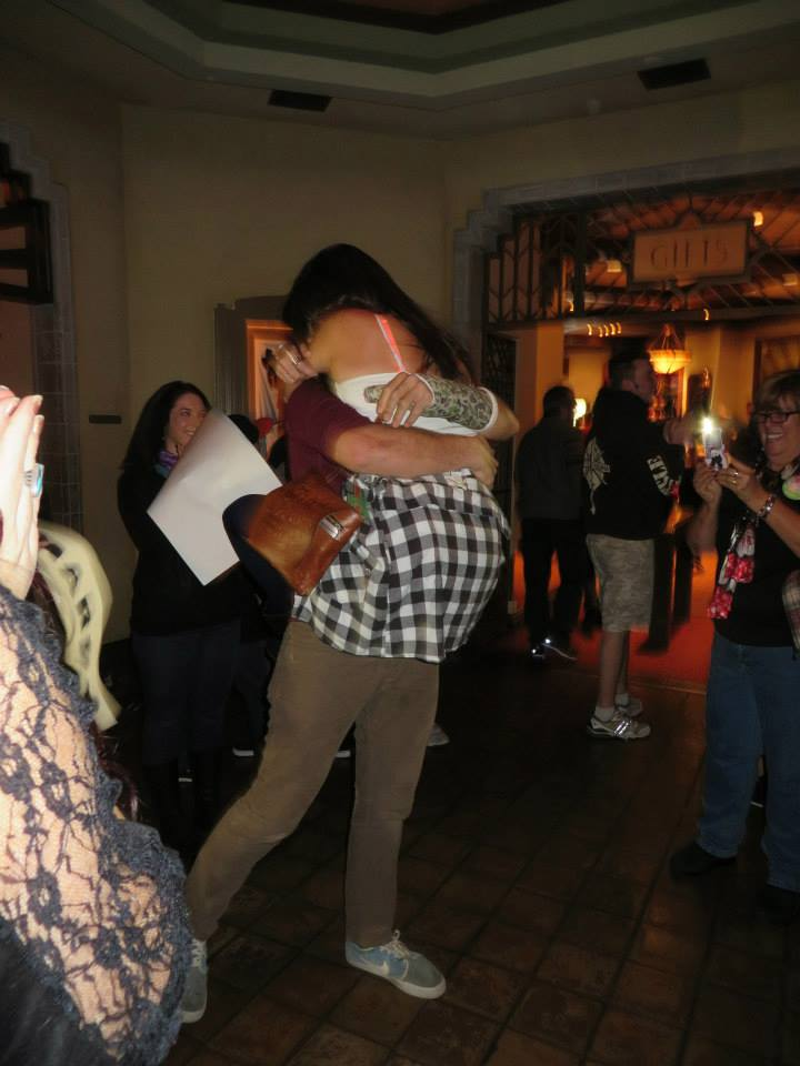Image 5 of Megan and Jacob's Tower of Terror Proposal