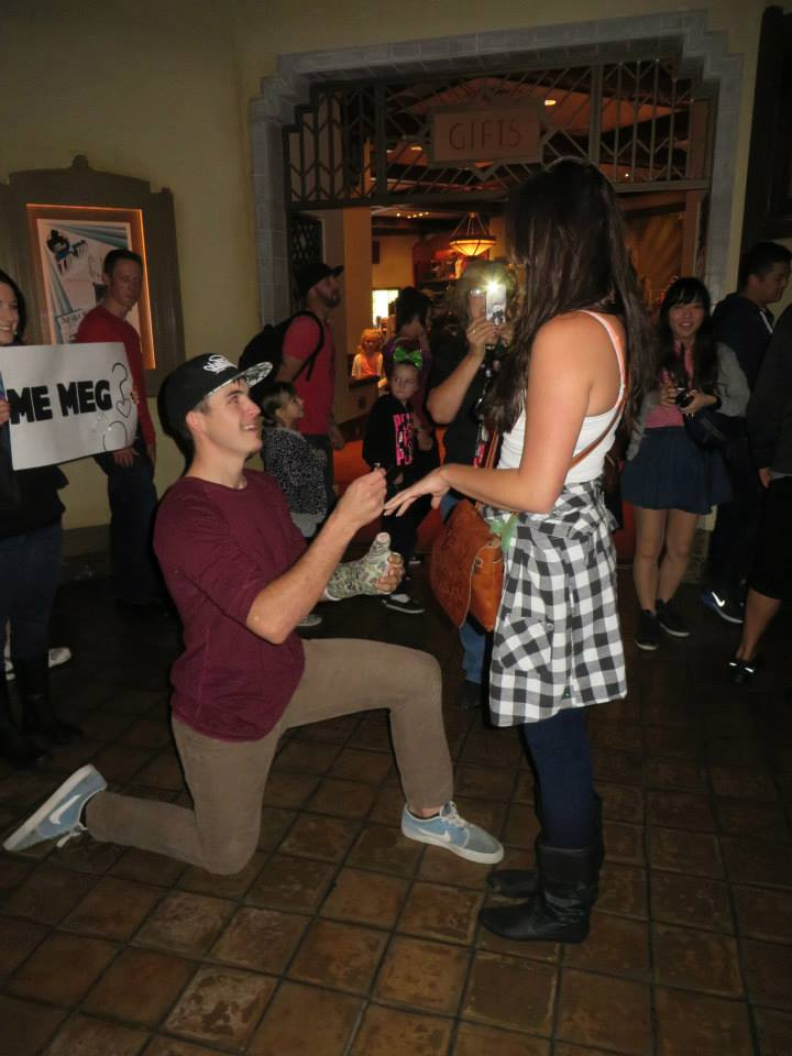 Image 4 of Megan and Jacob's Tower of Terror Proposal