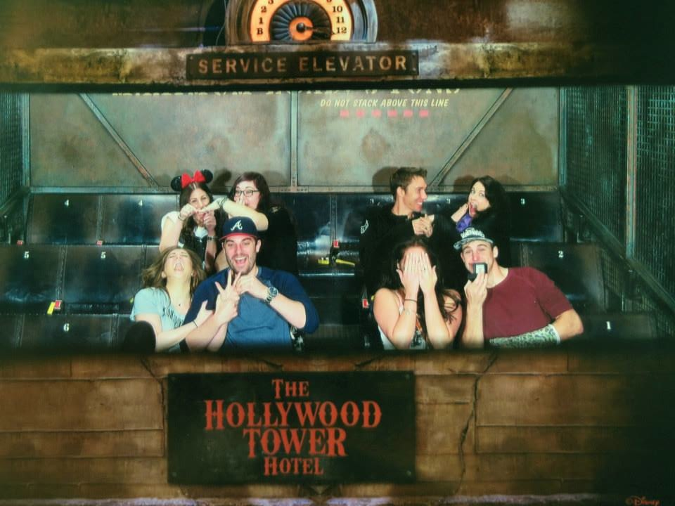 Image 6 of Megan and Jacob's Tower of Terror Proposal