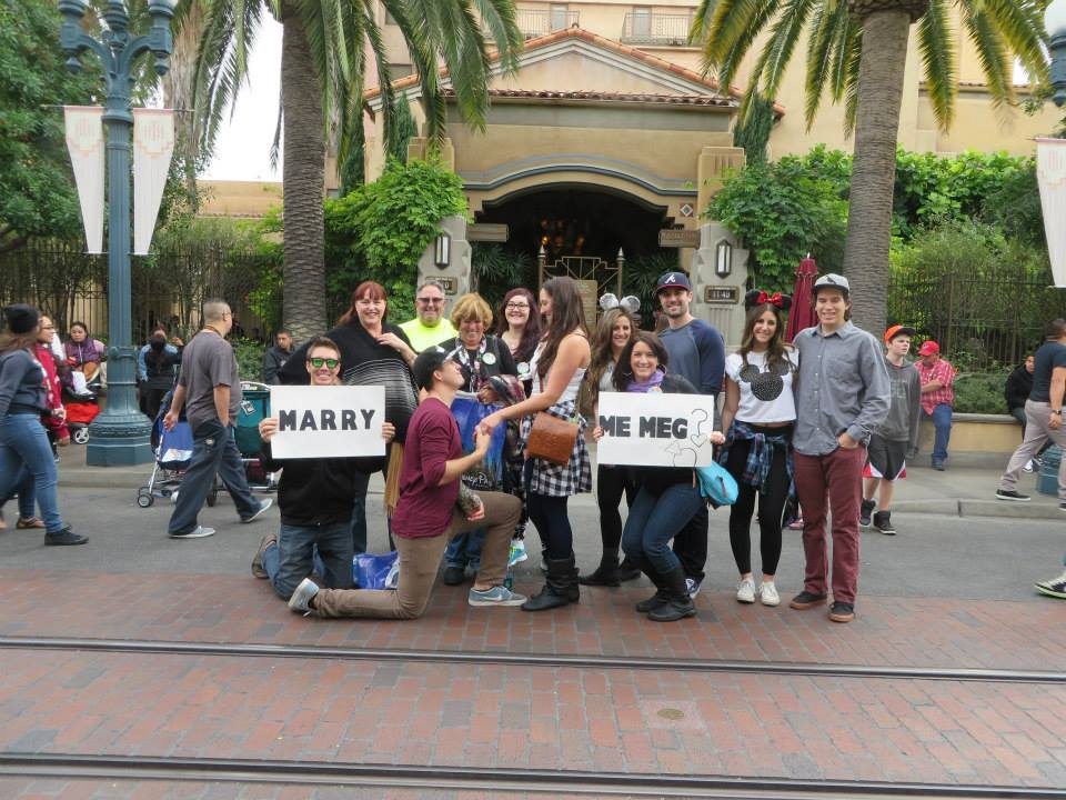 Image 7 of Megan and Jacob's Tower of Terror Proposal