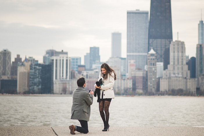 Image 3 of Jorge and Lorena's Chicago Pier Proposal