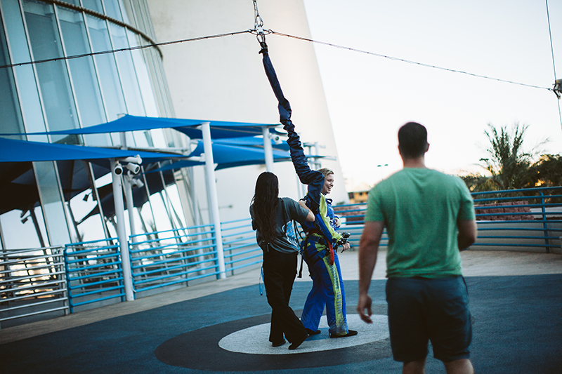 Image 12 of Ericka and Zach's Bungee Jump Proposal
