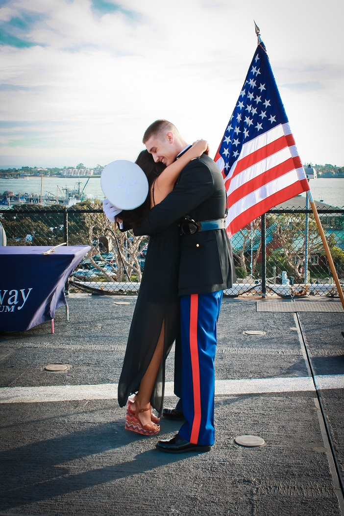 Image 2 of Aubry and Anthony's Commissioning Ceremony Proposal