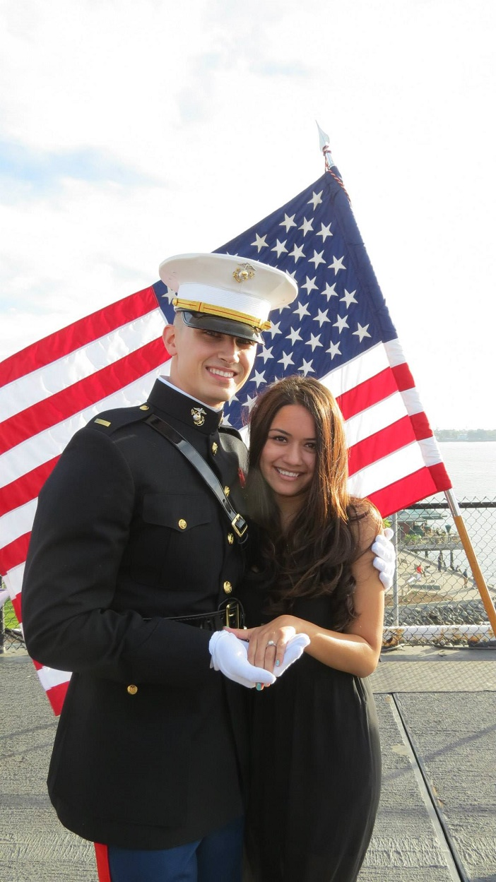 Image 3 of Aubry and Anthony's Commissioning Ceremony Proposal