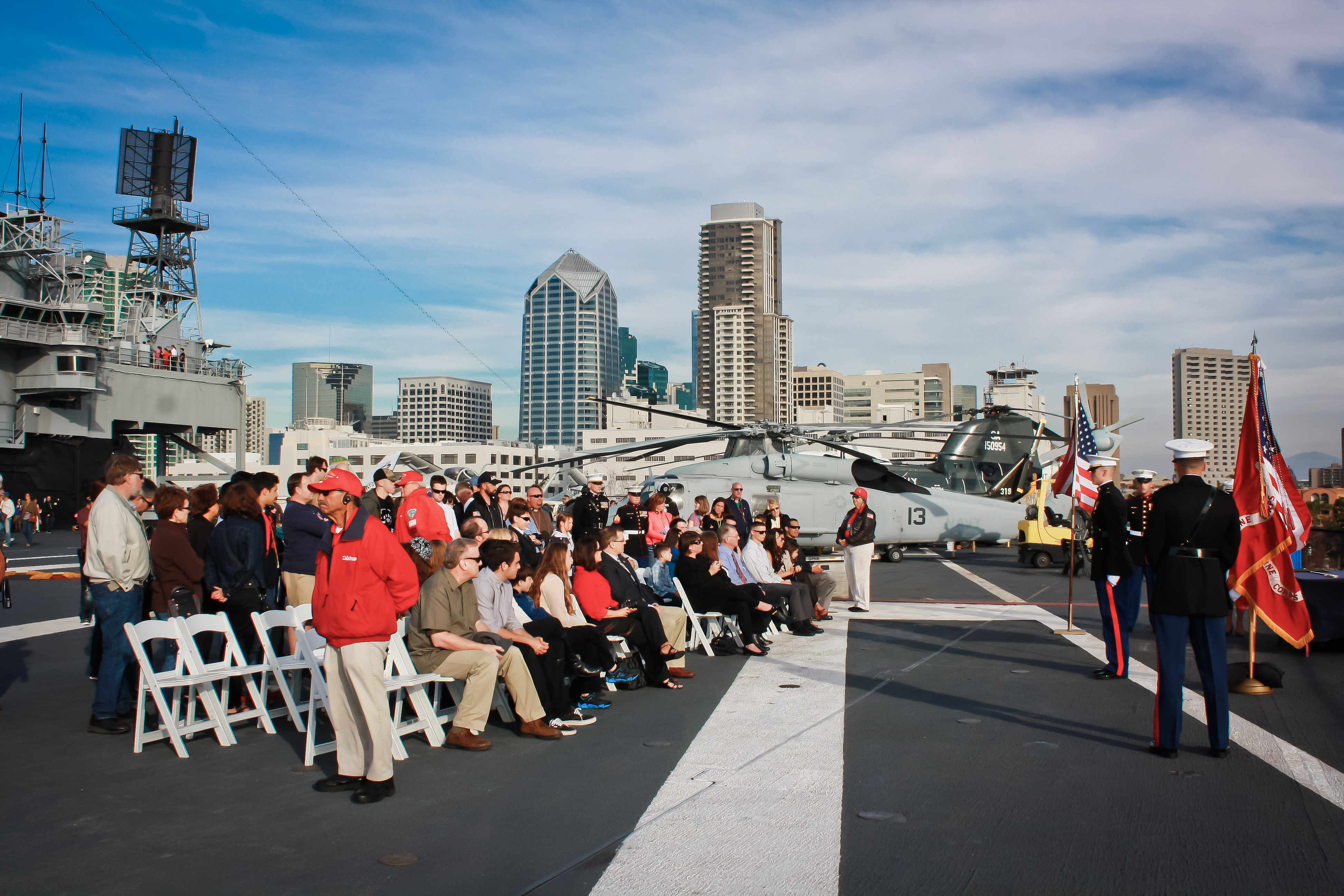 Image 7 of Aubry and Anthony's Commissioning Ceremony Proposal