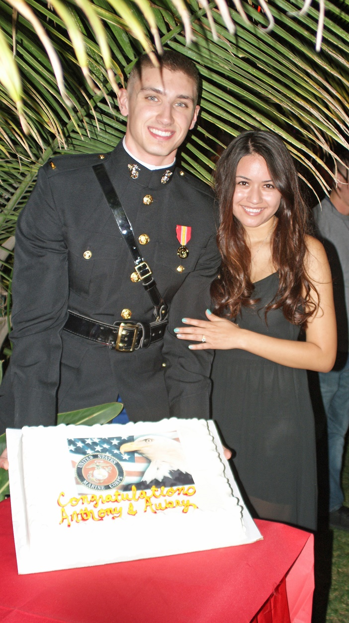 Image 5 of Aubry and Anthony's Commissioning Ceremony Proposal