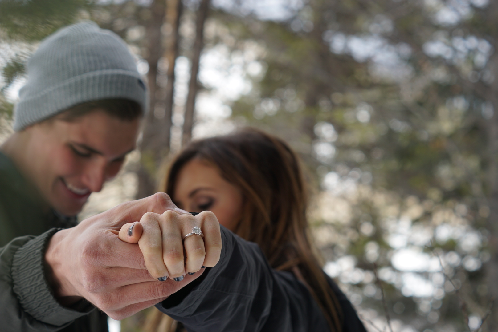 Image 4 of Paris and Pierce's Winter Proposal in Vail