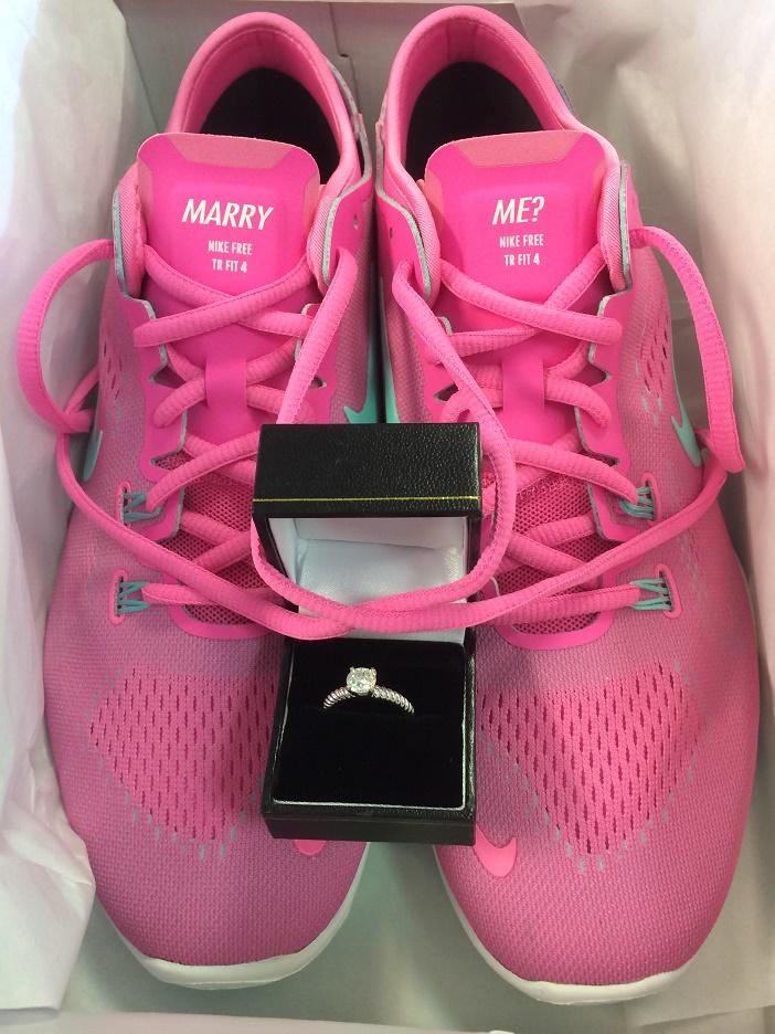 Marry Me Nike Sneaker Proposal