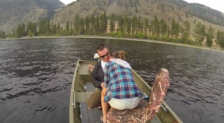 Fishing Marriage Proposal