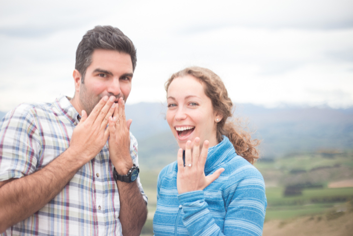 Image 2 of Jesse and Suzie's Gorgeous Proposal in New Zealand