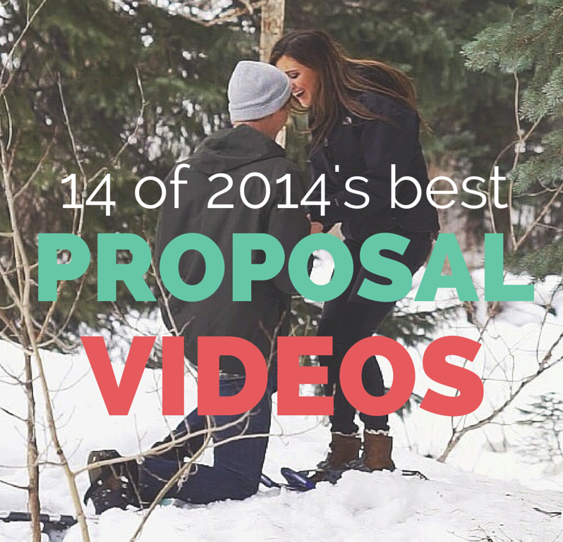 14 Of The Best Marriage Proposal Videos Of 2014