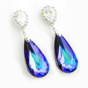 Teardrop Bridesmaid Earrings