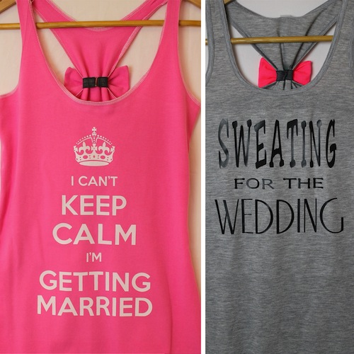 I Can't Keep Calm I'm Getting Married Tank