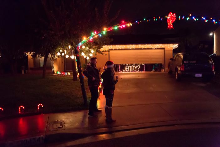 Image 7 of Jenny and Jake's Christmas Lights Proposal