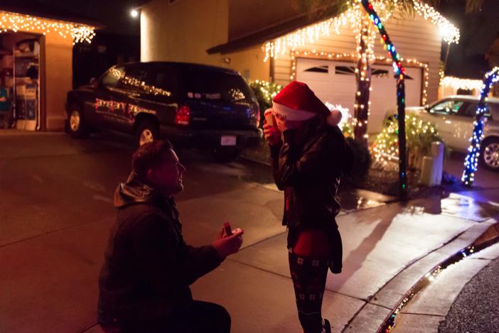 Image 9 of Jenny and Jake's Christmas Lights Proposal