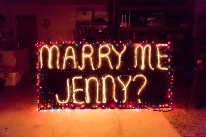 Image 6 of Jenny and Jake's Christmas Lights Proposal