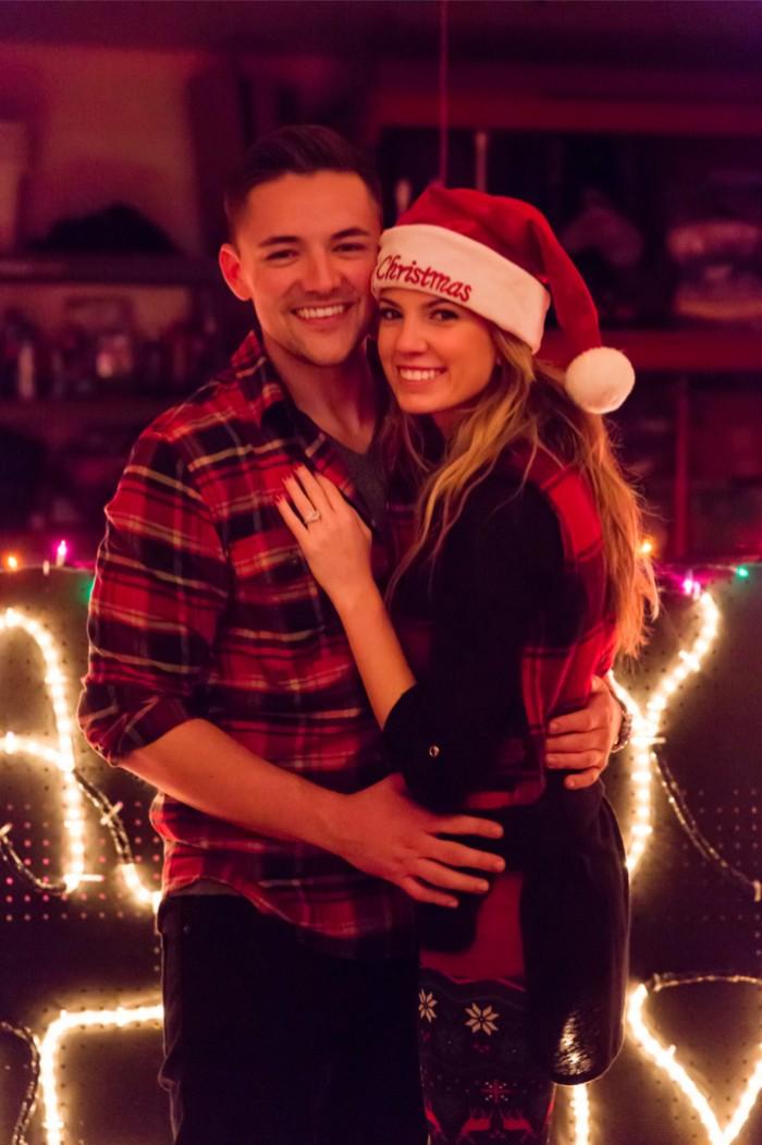 Image 5 of Jenny and Jake's Christmas Lights Proposal