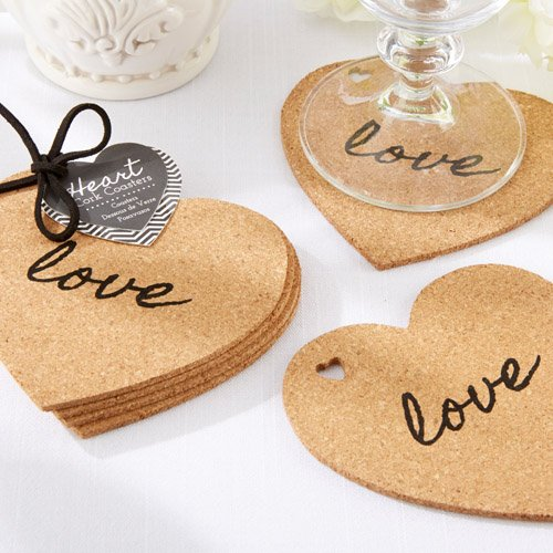 Heart-Shaped Coasters