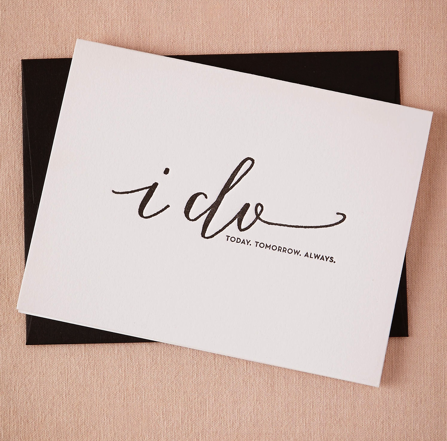 Wedding Day I Do Card
