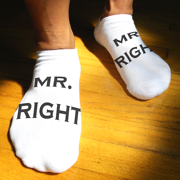 Mr. Right Socks