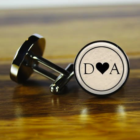 Personalized Wedding Cufflinks