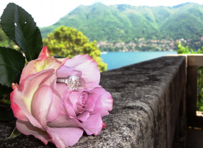 Image 3 of Megan and Kevin's Lake Como Marriage Proposal