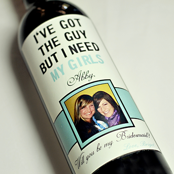 Wine Bottle Labels (5% discount with the code HOWHEASKED)
