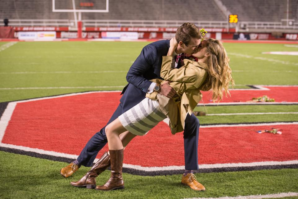 Image 2 of Sarah Jane and Justin's University of Utah Proposal