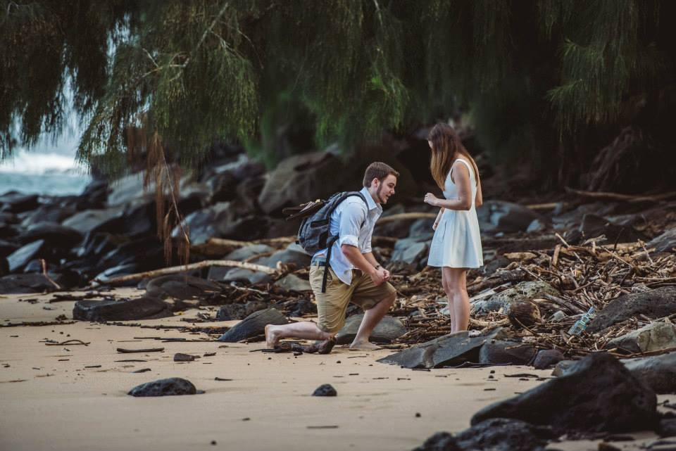 Image 3 of Alexandra and Kevin's Creative Proposal in Maui