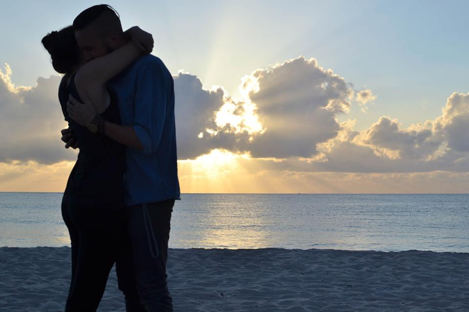 Image 5 of Taylor and Matt's Sunset Proposal