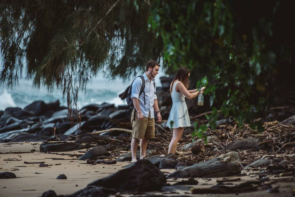 Image 2 of Alexandra and Kevin's Creative Proposal in Maui