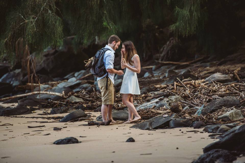 Image 4 of Alexandra and Kevin's Creative Proposal in Maui