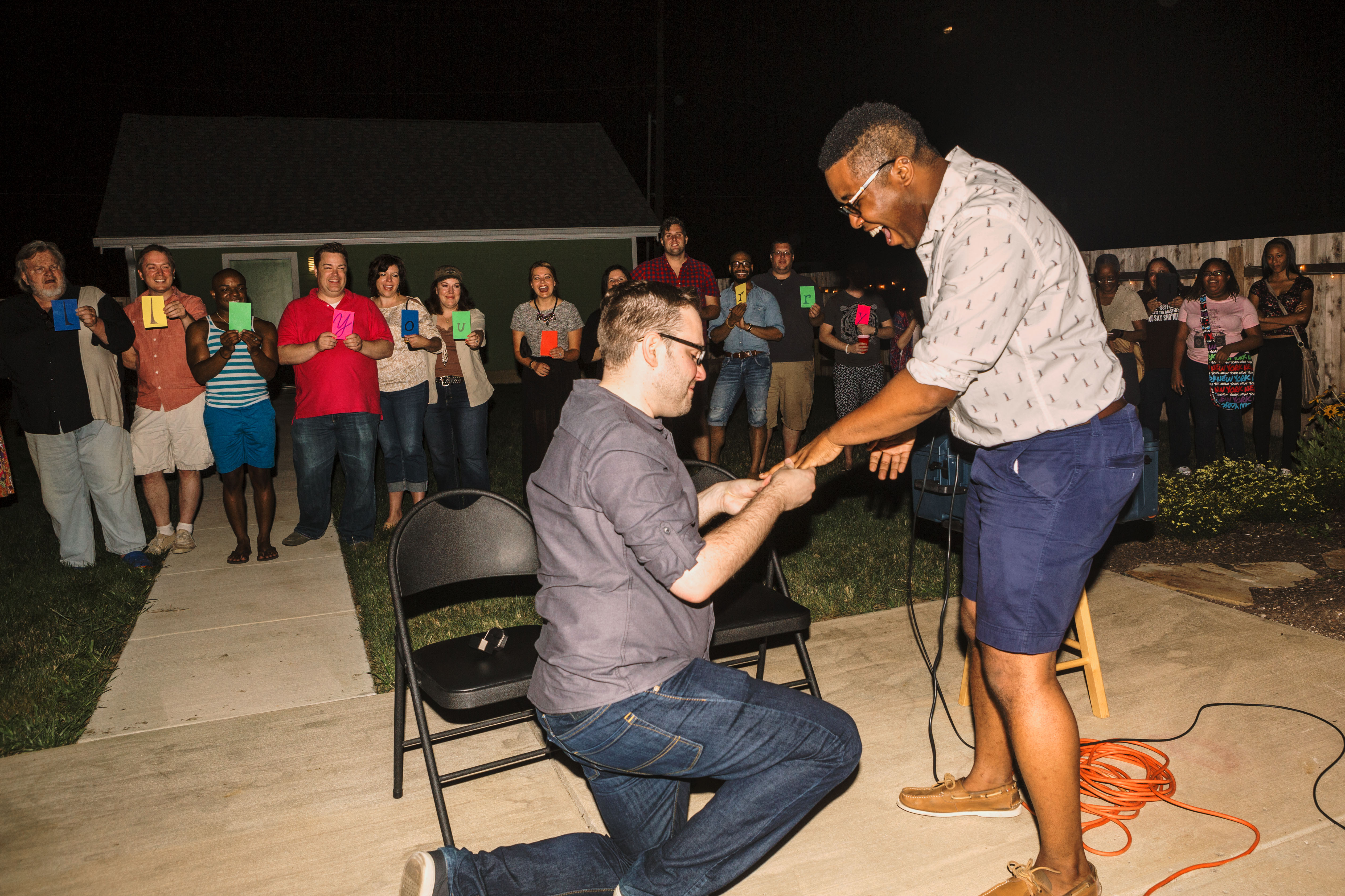 Image 5 of TJ and Matt's Surprise Gay Marriage Proposal