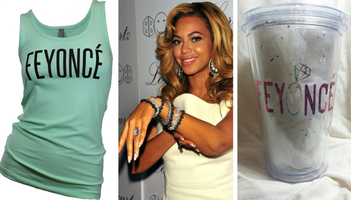 Beyonce Feyonce engagement gifts